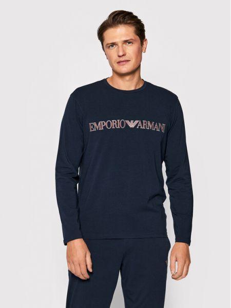 Piżama - granatowa Emporio Armani Underwear