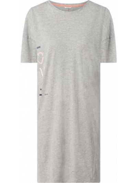 Bawełna bawełna koszula nocna z dekoltem okrągły Esprit