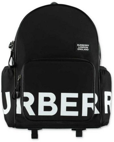 Czarny plecak Burberry