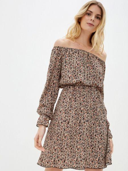Бежевое платье Sublevel