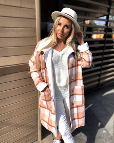 Шерстяное пальто - бежевое Rozetka