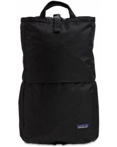 Черный рюкзак с завязками Patagonia