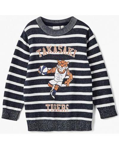 Синий свитер Name It