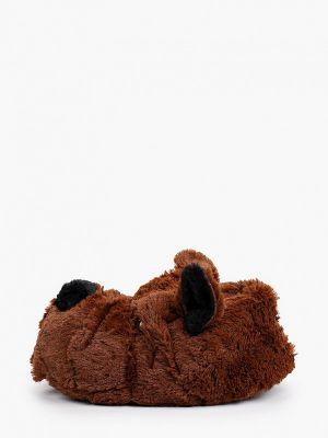 Домашние тапочки - коричневые Beppi