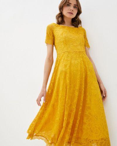 Желтое вечернее платье мадам т
