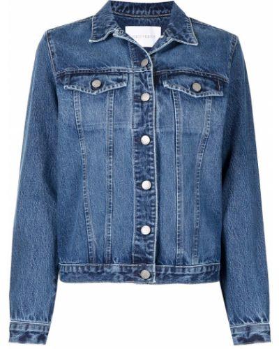 Хлопковая джинсовая куртка - синяя Nobody Denim