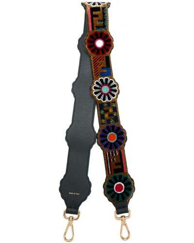 Ремень с цветочным принтом Fendi