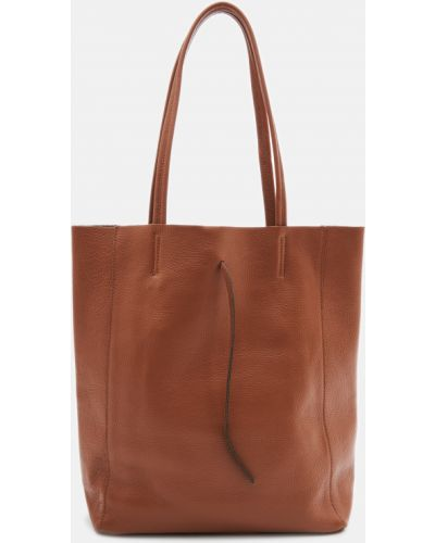 Кожаная сумка шоппер Bella Bertucci