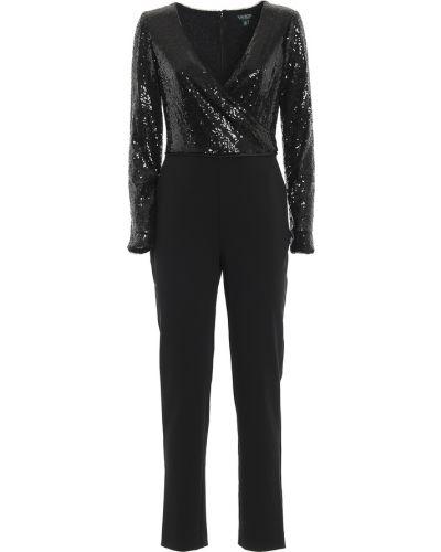 Top z długimi rękawami elegancki z cekinami Ralph Lauren