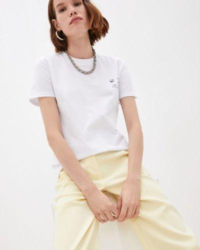 Белая футболка осенняя Chiara Ferragni Collection