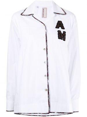Рубашка с длинным рукавом - белая Antonio Marras