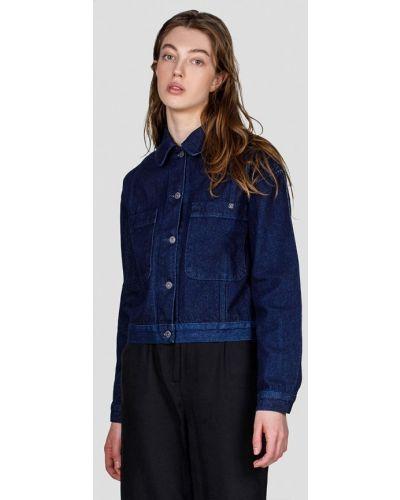 Синяя джинсовая куртка Minnim