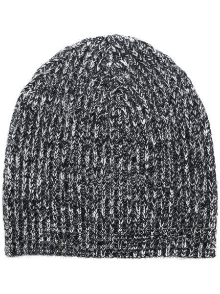 Кашемировая серая шапка бини Cashmere In Love
