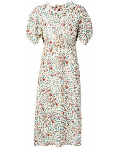 Платье мини миди с цветочным принтом Tsumori Chisato