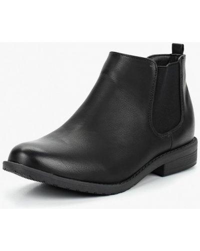 Ботинки челси осенние черные Style Shoes