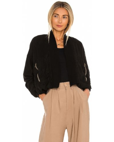 Куртка на молнии - черная Yfb Clothing