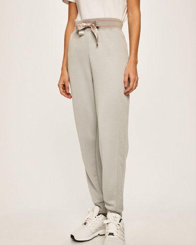 Брюки на резинке серые с поясом Guess Jeans