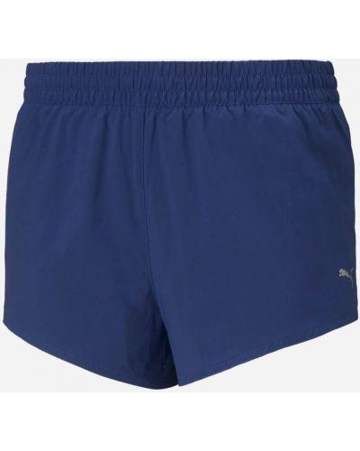 Спортивные шорты для тренировок - синие Puma