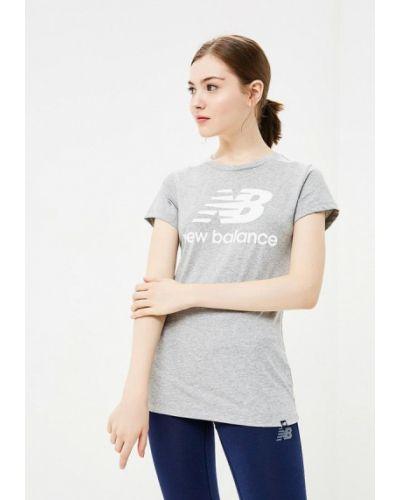 Серая футболка 2019 New Balance