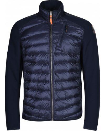 Куртка с перьями - синяя Parajumpers