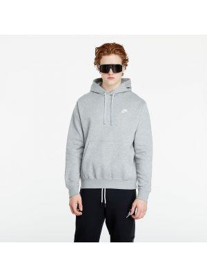 Biały pulower srebrny Nike