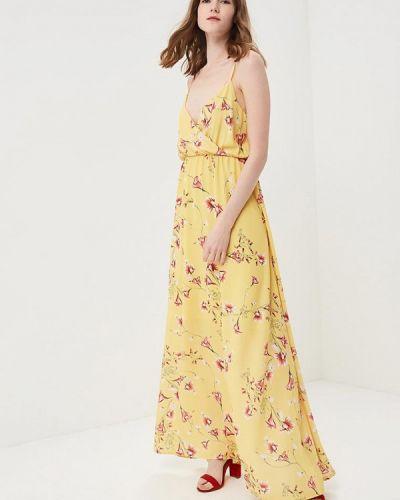 Платье с открытыми плечами весеннее Miss Miss By Valentina