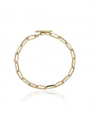Bransoletka ze złota łańcuch metal Lizzie Mandler Fine Jewelry