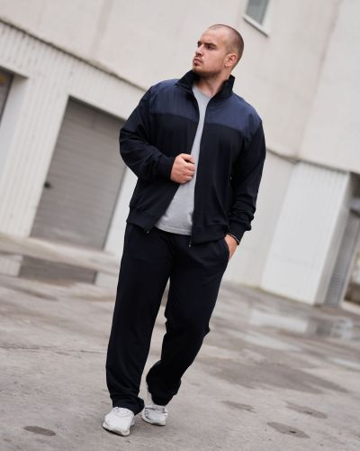 Трикотажный спортивный костюм - синий Rozetka
