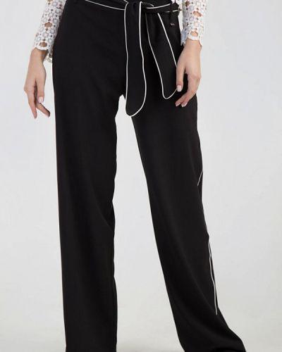 Черные классические брюки с карманами Das