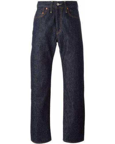 Джинсы классические с карманами кожаный Levi's Vintage Clothing
