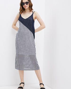 Платье платье-сарафан синее Colin's