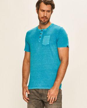 Koszula dzinsowa na przyciskach wełniany Tom Tailor Denim