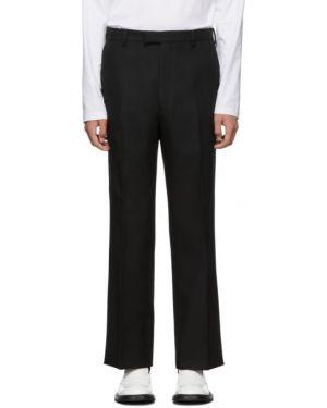 Классические брюки черные с карманами Prada