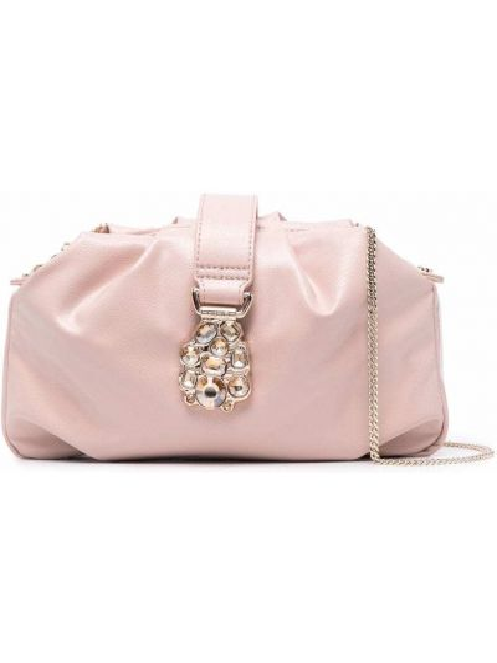 Розовая сумка на молнии Liu Jo