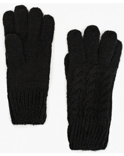 Черные перчатки текстильные Carpisa
