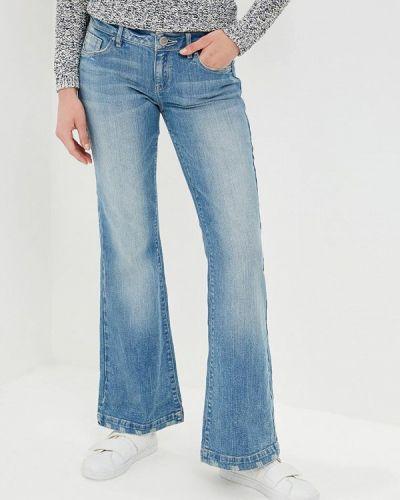 Широкие джинсы расклешенные зеленый S.oliver