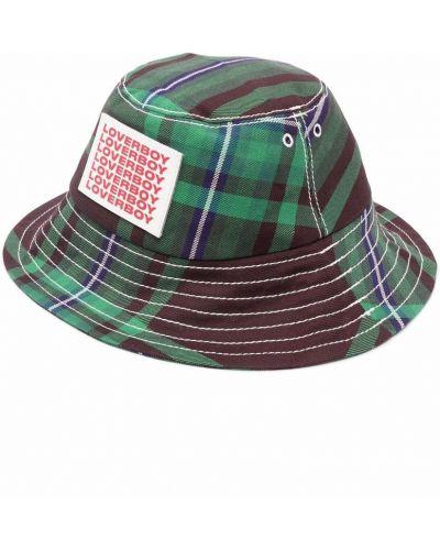 Zielony kapelusz bawełniany Charles Jeffrey Loverboy