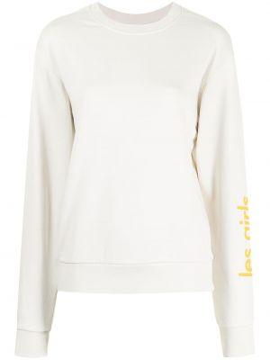 Хлопковая свитер с вырезом Les Girls, Les Boys