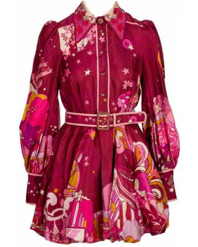 Czerwona sukienka Zimmermann