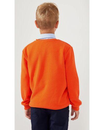 Оранжевый свитер Defacto