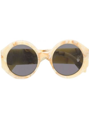 Żółte okulary Off-white
