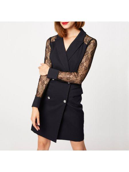 Платье мини с V-образным вырезом прямое Morgan