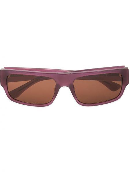 Fioletowe okulary Linda Farrow