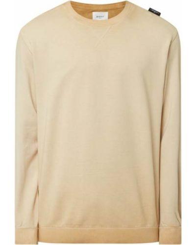 Bluza bawełniana - beżowa Be Edgy