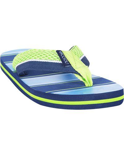 Шлепанцы зеленый для обуви S`cool