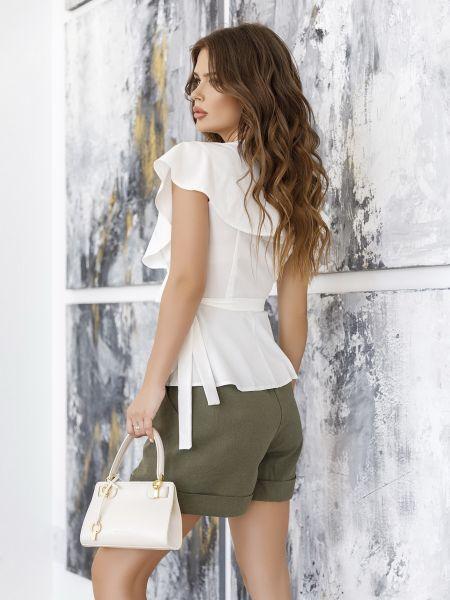 Блузка с короткими рукавами Issa Plus