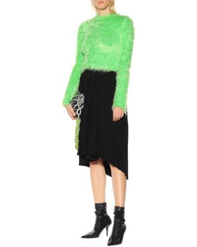 Sweter, zielony Balenciaga