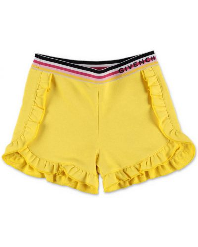 Spodenki sportowe - żółte Givenchy