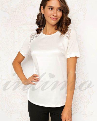 Черная кружевная блузка Anabel Arto
