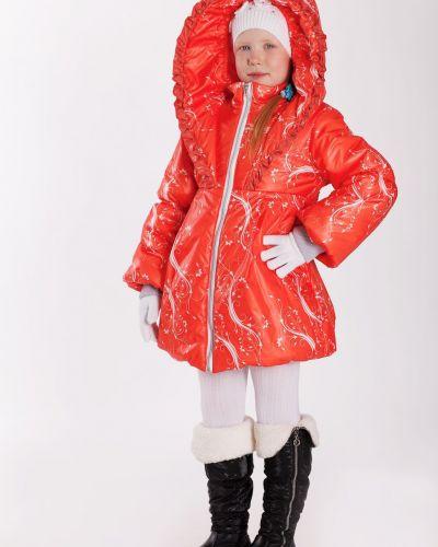 Пальто с капюшоном на синтепоне серое Lacywear